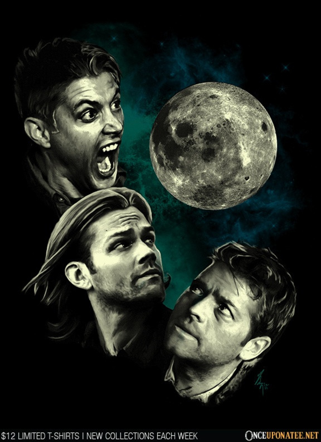 Once Upon a Tee: Three Super Moon