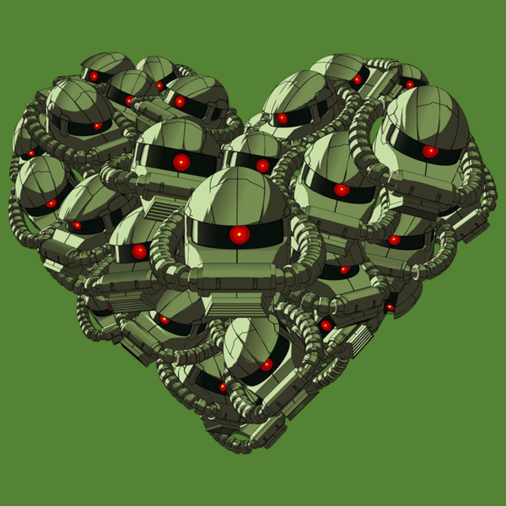 NeatoShop: #045 - Mech Love Not War (Green Edition)