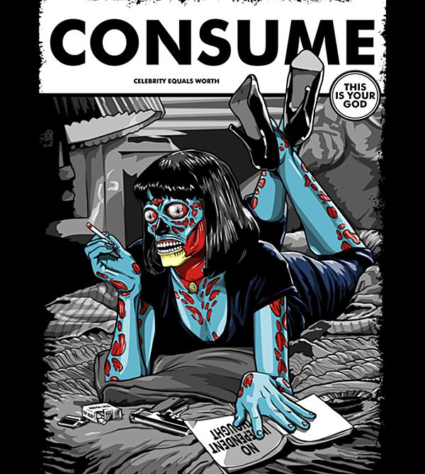 teeVillain: Consume Pulp