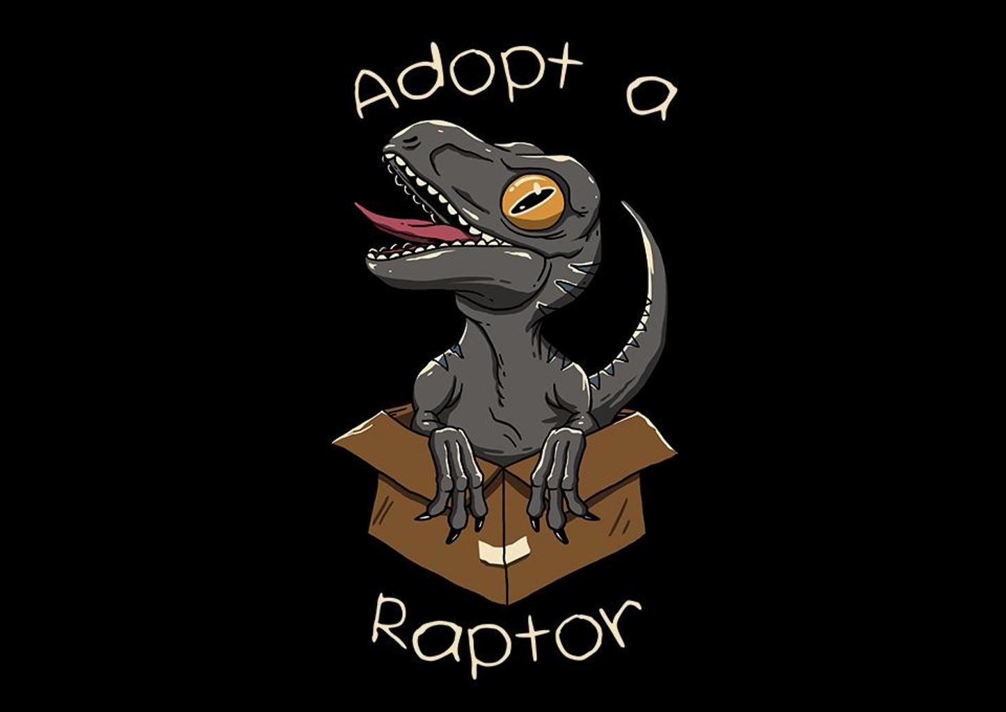 TeeFury: Adopt a Dino