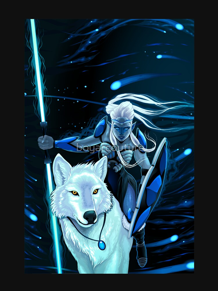 RedBubble: White Wolf Warrior