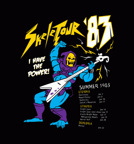 BustedTees: Skeletour 83