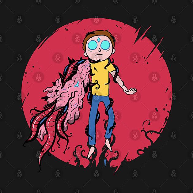 TeePublic: Anime Morty