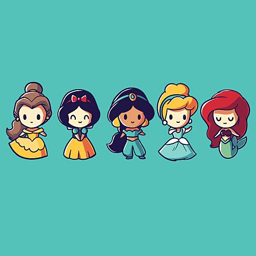 TeeTurtle: Lil Princesses