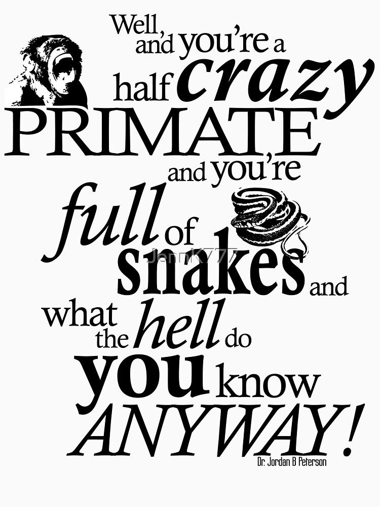 RedBubble: Crazy Primate (1)