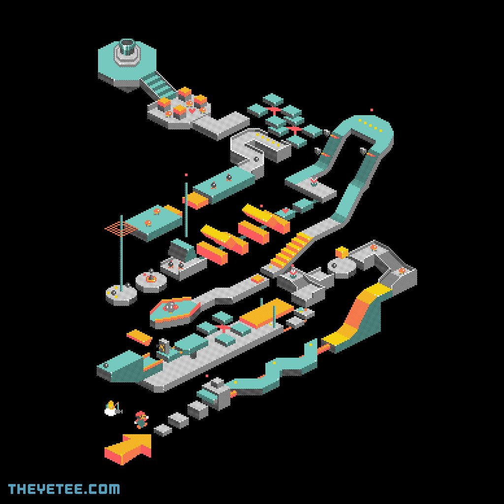 The Yetee: 8-bit Final Boss Stage