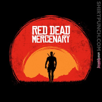 ShirtPunch: Red Dead Mercenary