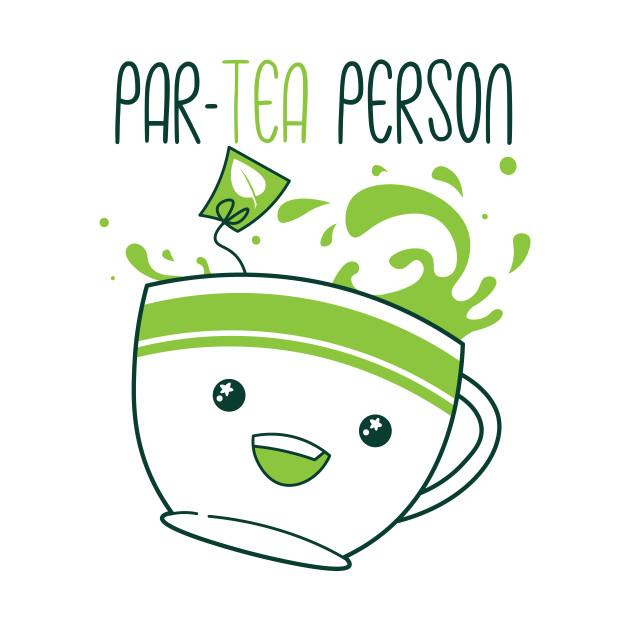 TeePublic: Par-Tea Person