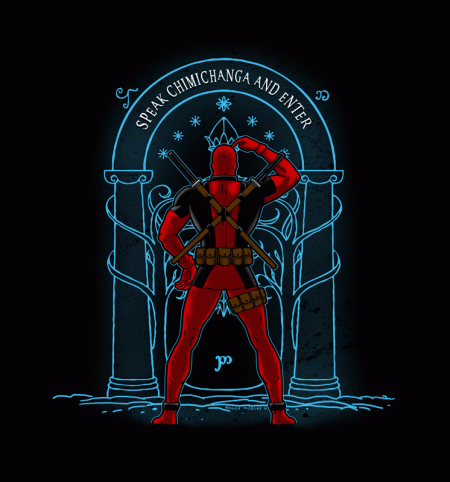 BustedTees: Speak Chimichanga and Enter