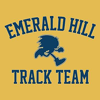 BustedTees: Emerald Hill Track Team Hoodie