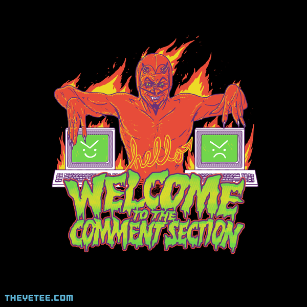 The Yetee: Welcome to the Comment Section
