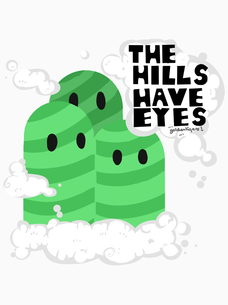RedBubble: THE HILLS HAVE EYES [ DESIGN ]