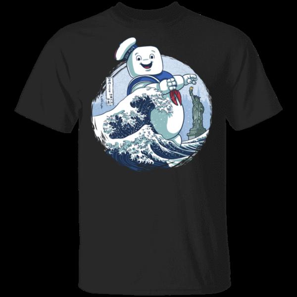 Pop-Up Tee: Ghost Wave