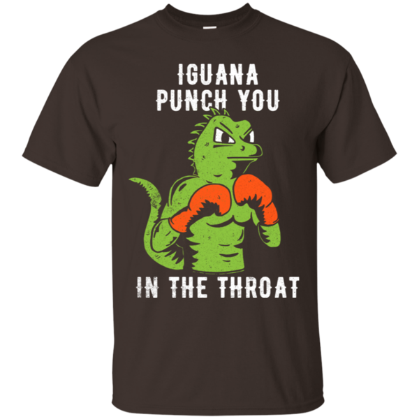 Pop-Up Tee: Iguana Punch You