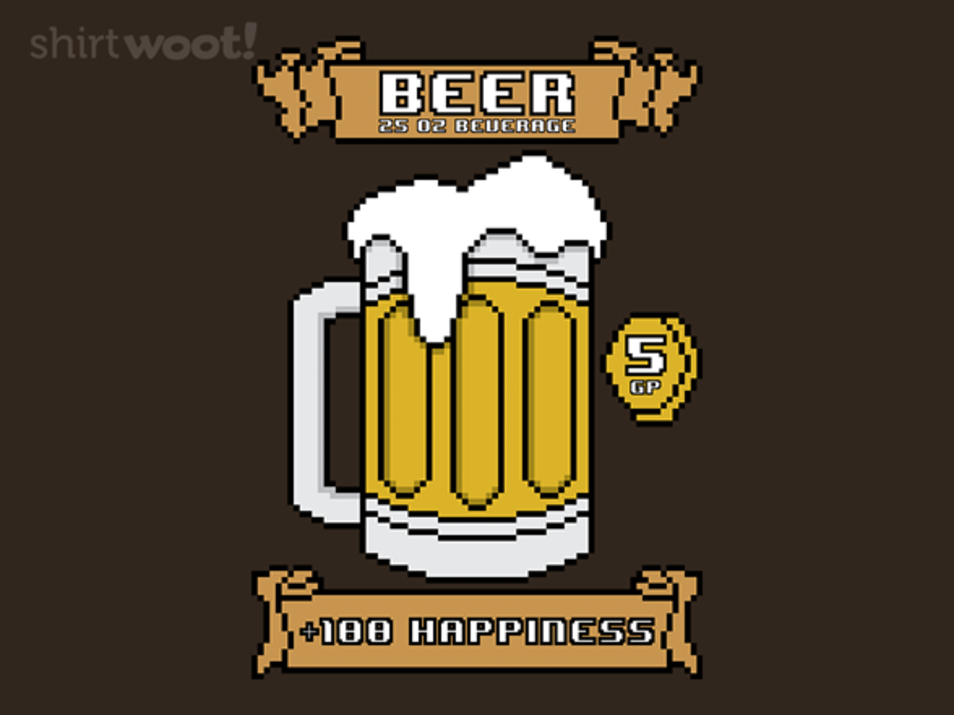 Woot!: Beer RPG - $15.00 + Free shipping