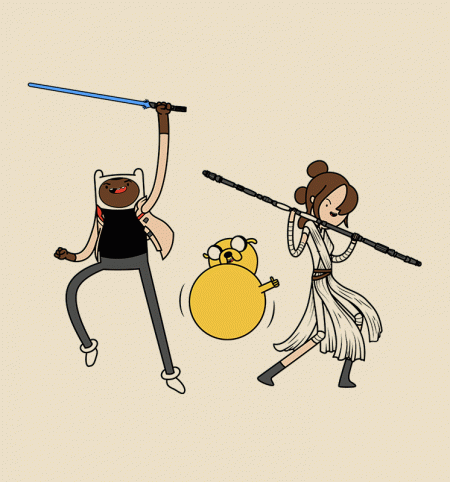 BustedTees: Adventure Awakens