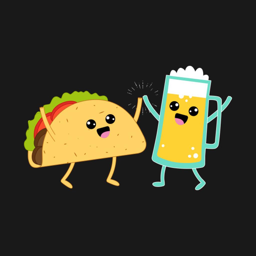 TeePublic: Taco & Beer