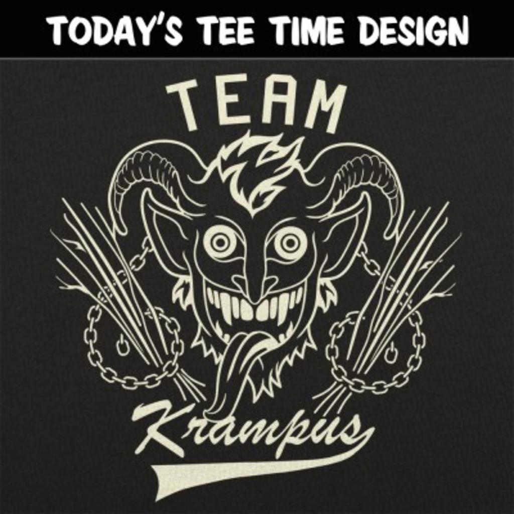 6 Dollar Shirts: Team Krampus