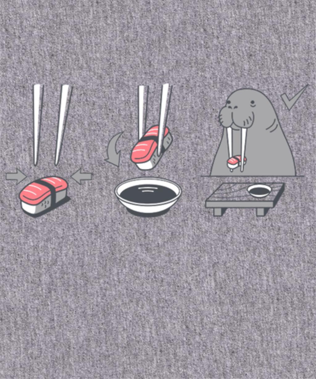 Qwertee: Sushi Lover