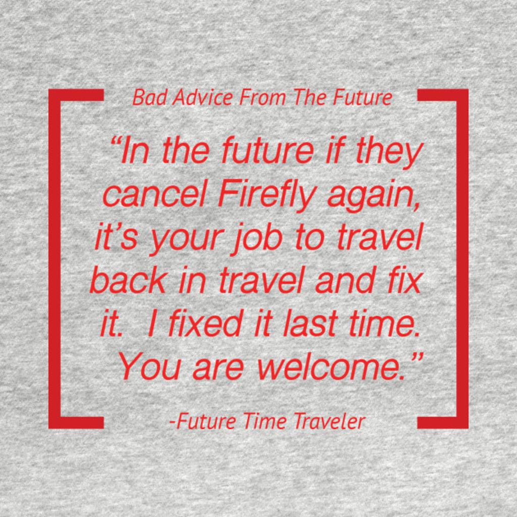 TeePublic: Keep Firefly Alive