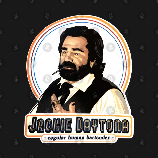TeePublic: Jackie Daytona Regular Human Bartender vintage