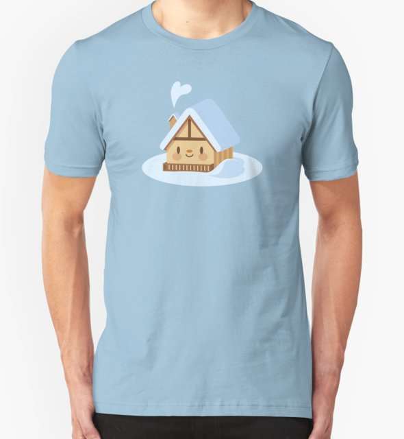 RedBubble: Cute alpine chalet