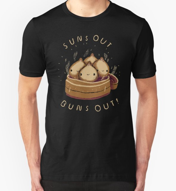 RedBubble: suns out buns out!