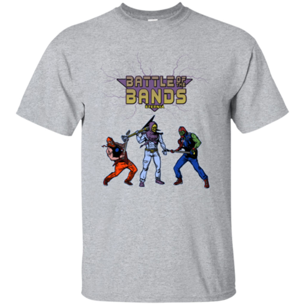 Pop-Up Tee: Battle Of The Bands