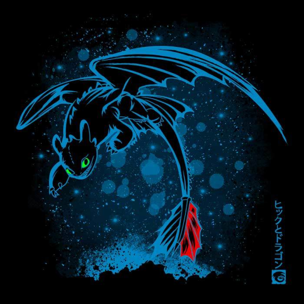 Once Upon a Tee: Night Dragon