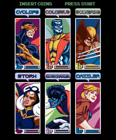 Qwertee: Select A Mutant