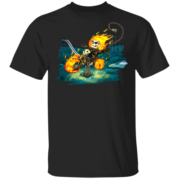Pop-Up Tee: Baby Ghostrider