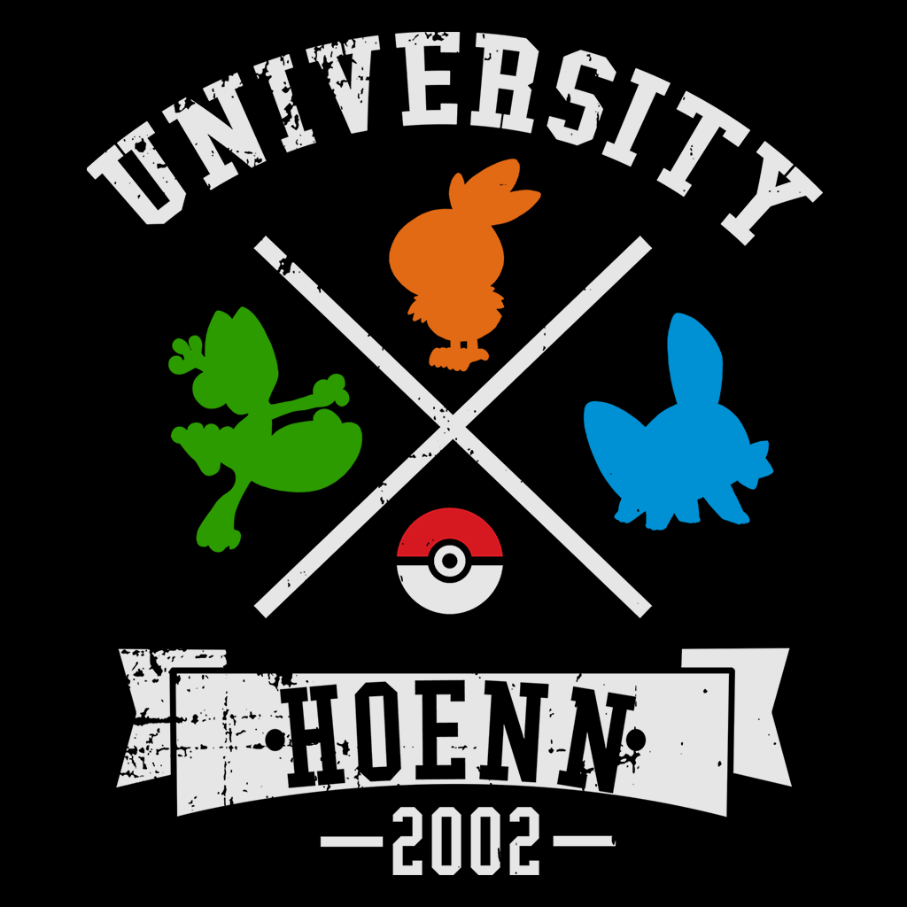 Pop-Up Tee: University Hoenn