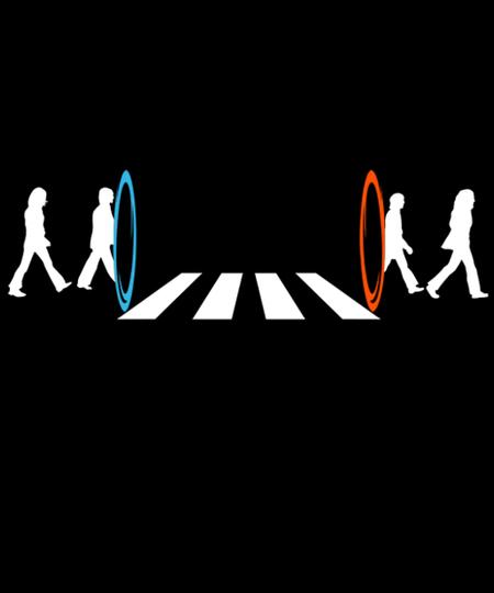 Qwertee: Abbey road