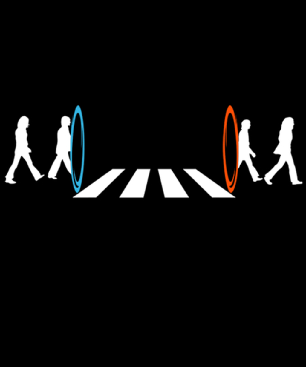 Qwertee: Abbey road