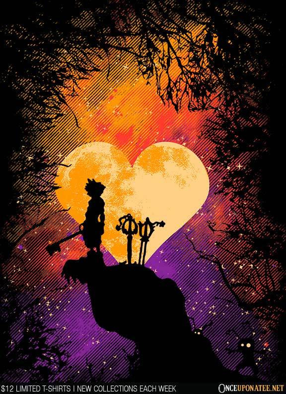 Once Upon a Tee: Heart of Gold
