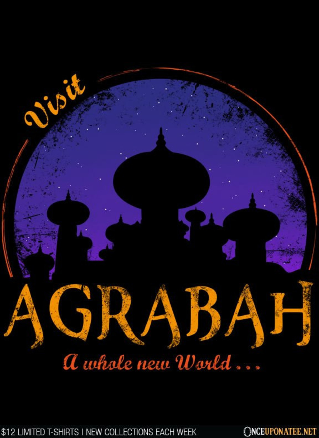 Once Upon a Tee: Visit Agrabah