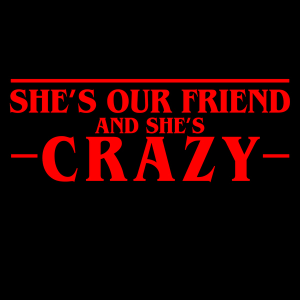 NeatoShop: She's Our Friend