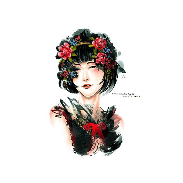 TeePublic: Flowers