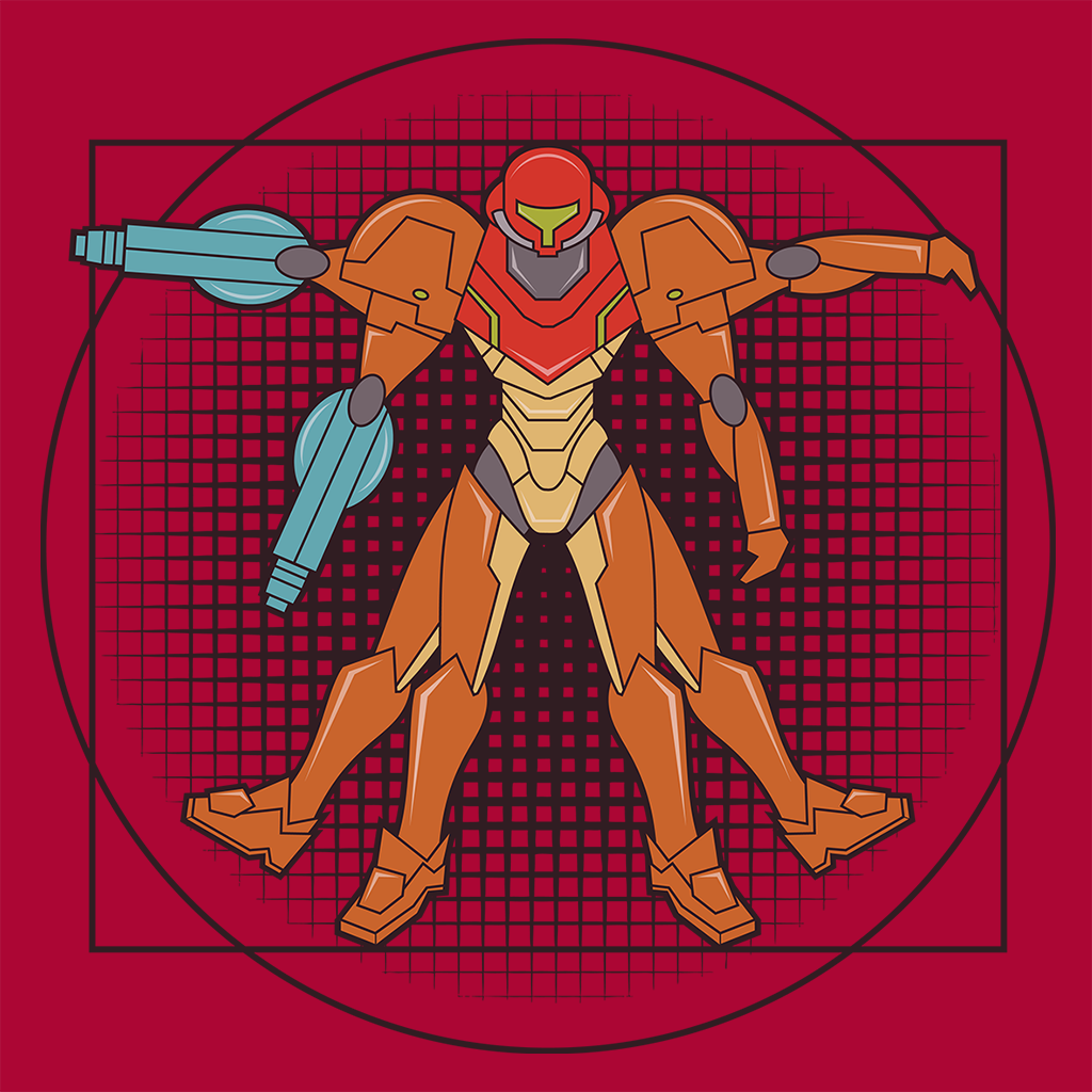 Pop-Up Tee: Vitruvian Bounty Hunter
