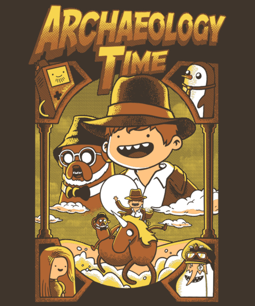 Qwertee: Archaeology Time