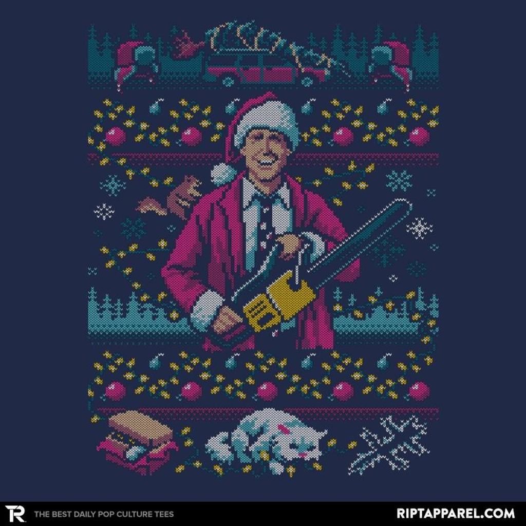 Ript: Hap, Hap, Happiest Sweater this Side of the Nuthouse