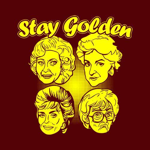 Five Finger Tees: Stay Golden T-Shirt