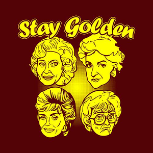 Five Finger Tees: Stay Golden T-Shirt
