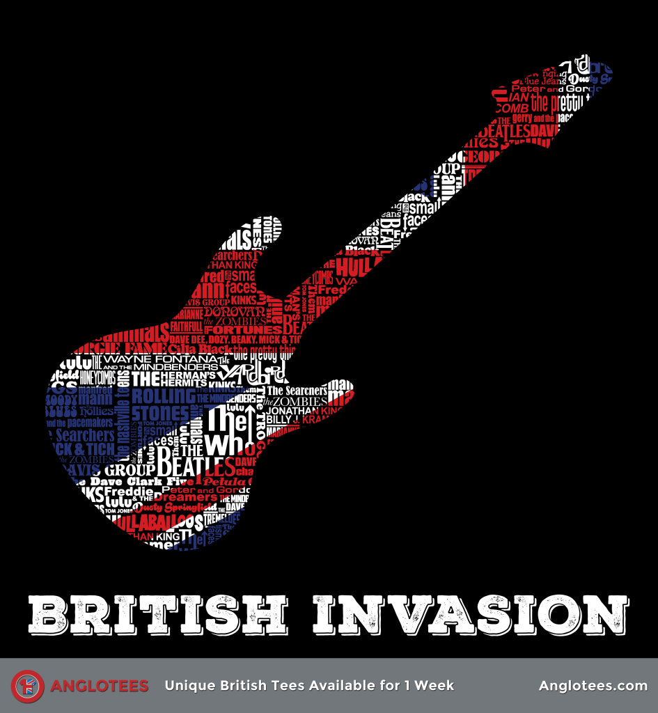 Anglotees: The British Invasion