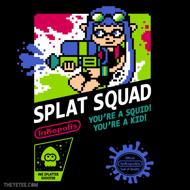 The Yetee: LAST CHANCE: Splat Squad