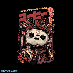 The Yetee: Black magic coffee