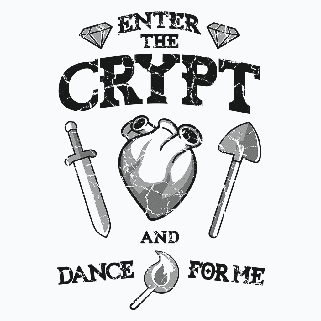Pop-Up Tee: Enter The Crypt
