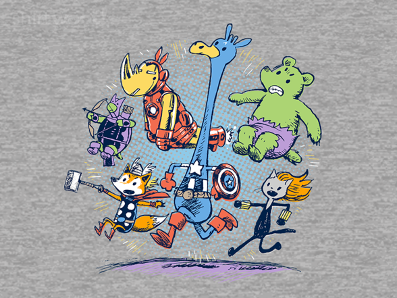 Woot!: Animals Assemble!