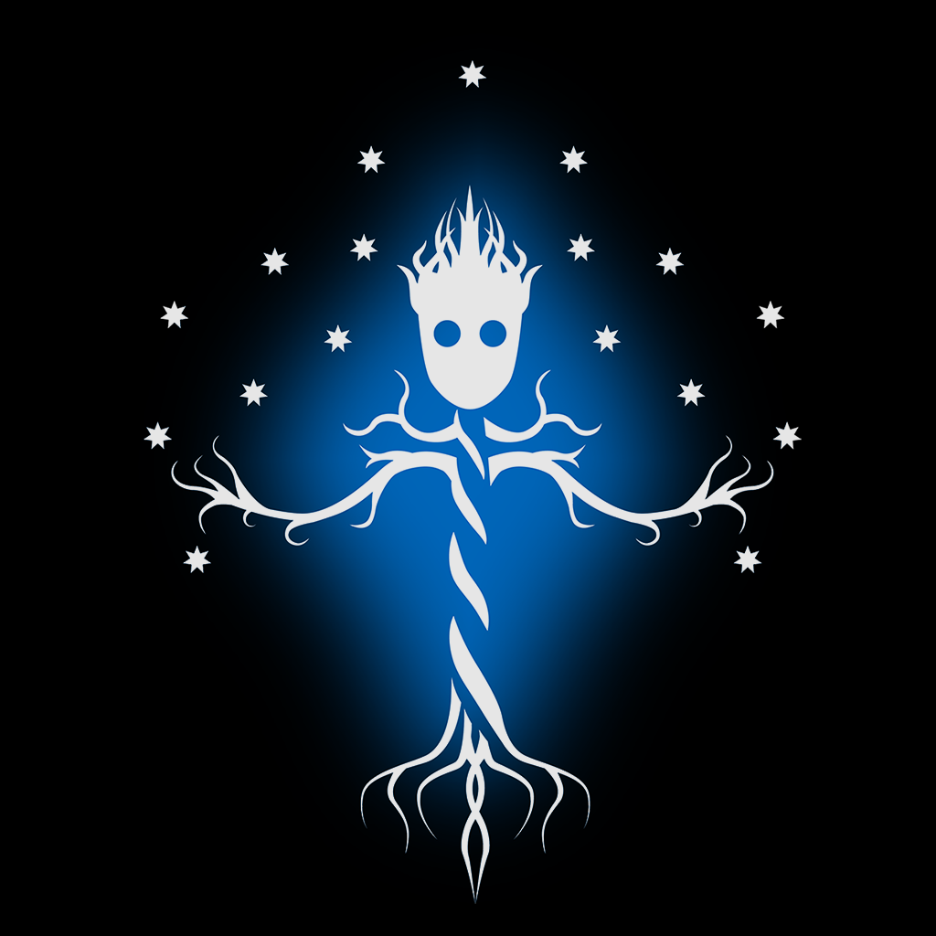 Pop-Up Tee: Guardian Tree of the Galaxy