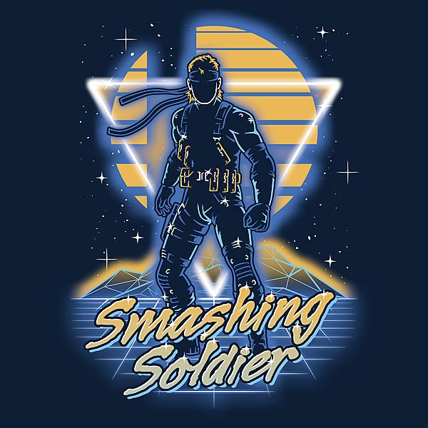 NeatoShop: Retro Smashing Soldier